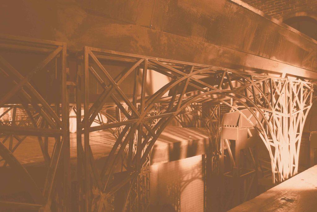 structuri butaforie, structura din metal, decor teatru
