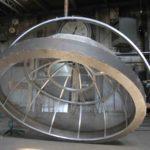 cupola metalica,scenografie