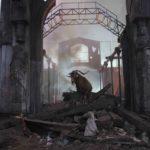 ruine oras, decor 3D, decor film