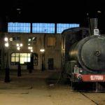 locomotiva tren negru, recuzita film