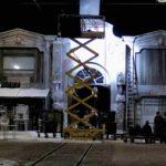 constructie metalica, scena teatru