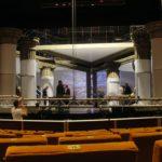 gradene teatru, scena spectacol