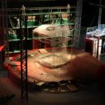scena rotunda, scena teatru, constructie metalica scena, scenografie, teatru