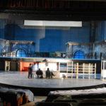 actori pe scena, gradene teatru