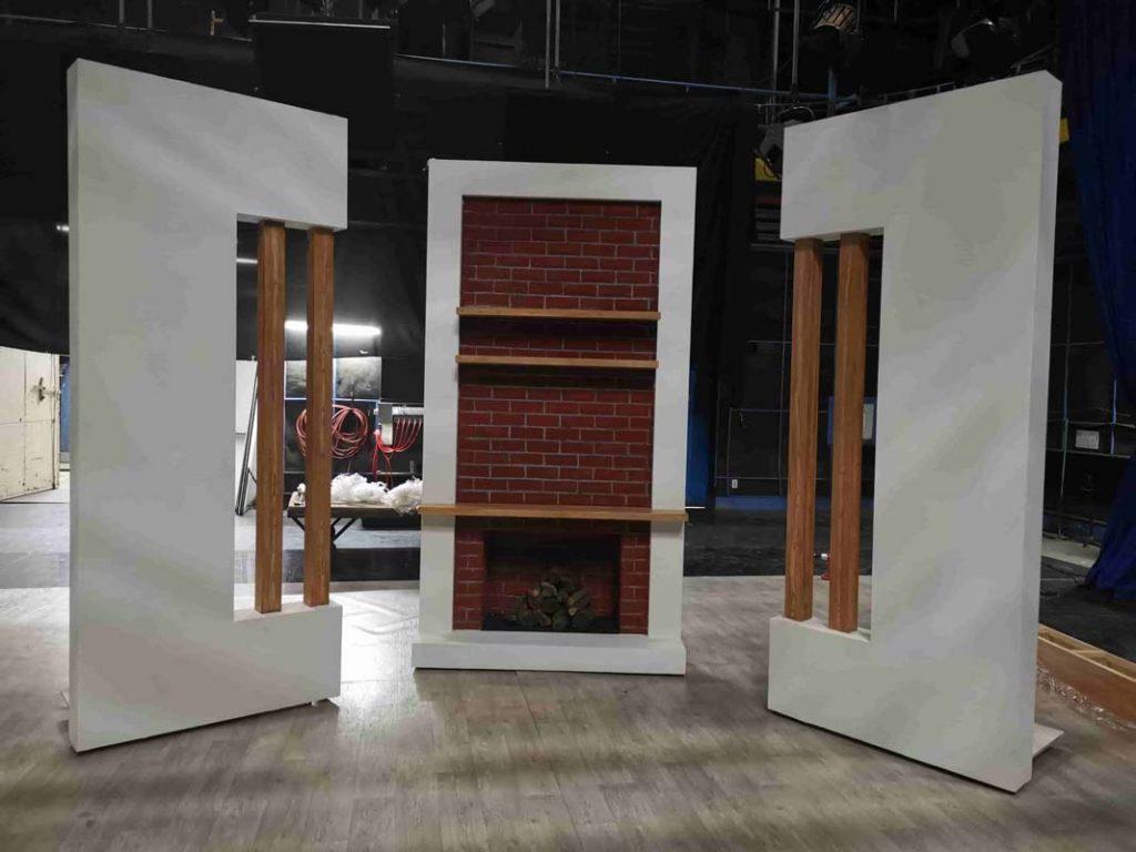 Decor emisiune tv Nadine TVR