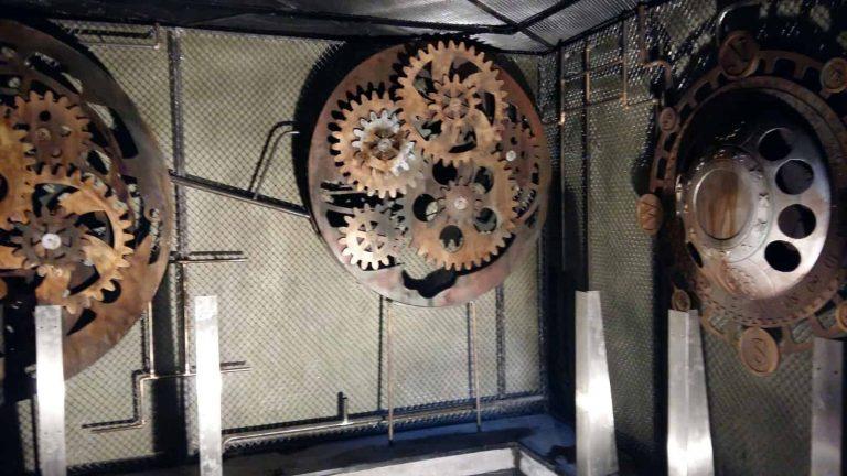 butaforii - sistem roti si rotite din metal