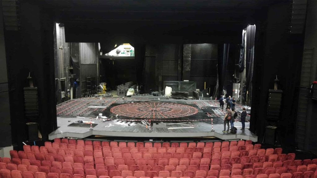 truss - Phantom double rotating stage system Oslo - final project