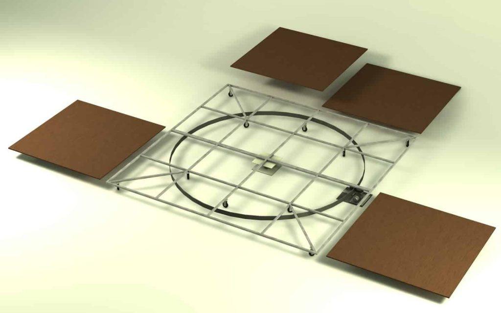 truss - Square scene project 1