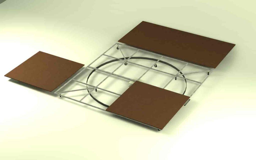 truss - Square scene project 3