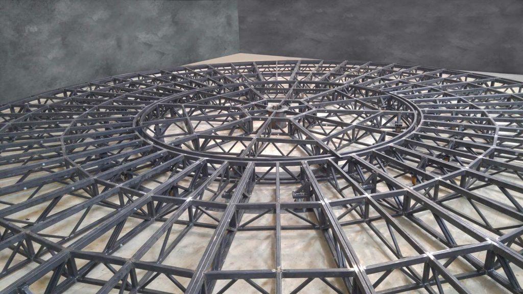Scena amfiteatru rotunda 3